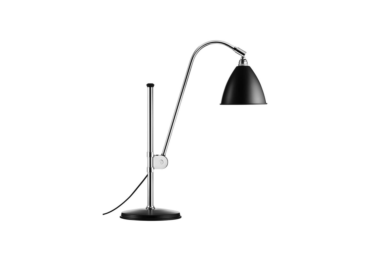 Gubi Bestlite BL1 Table Lamp Chrome Black