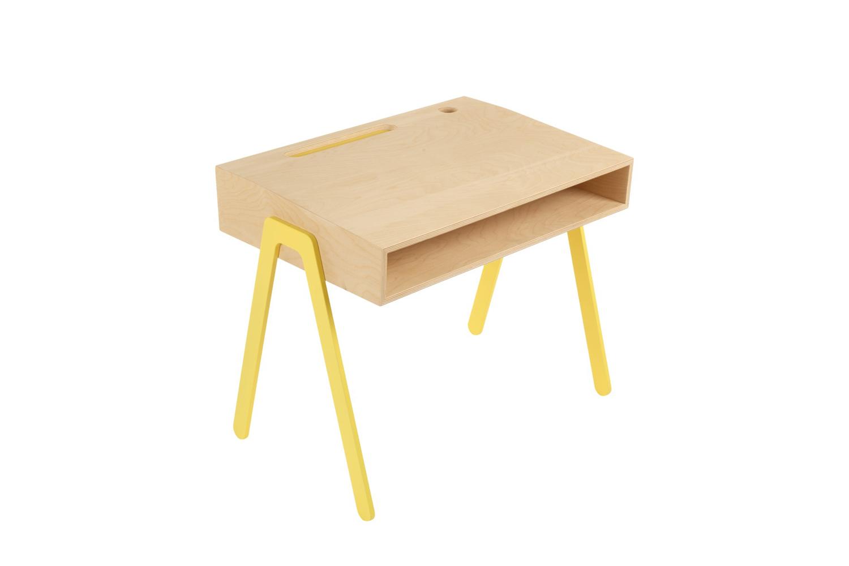 In2Wood Kids Desk Yellow
