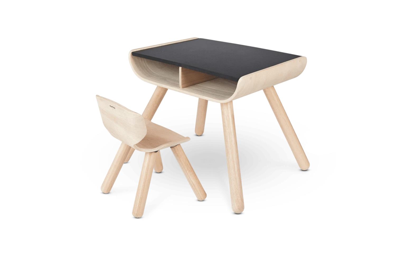 Plan Toys Table Chair Black