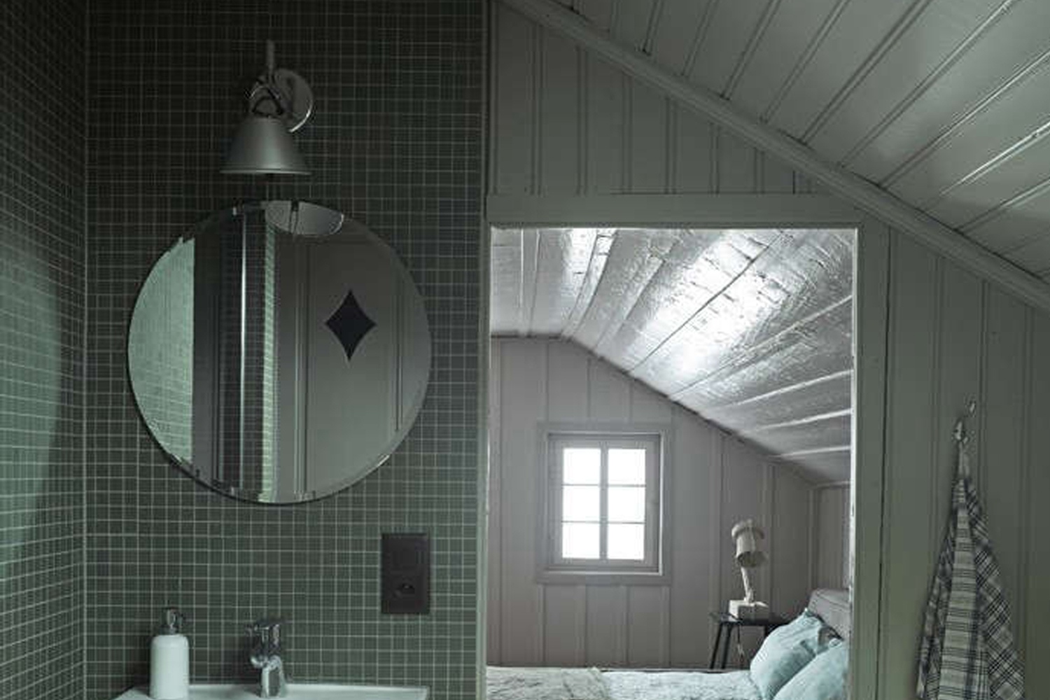 tolomeo wall sconce in situ
