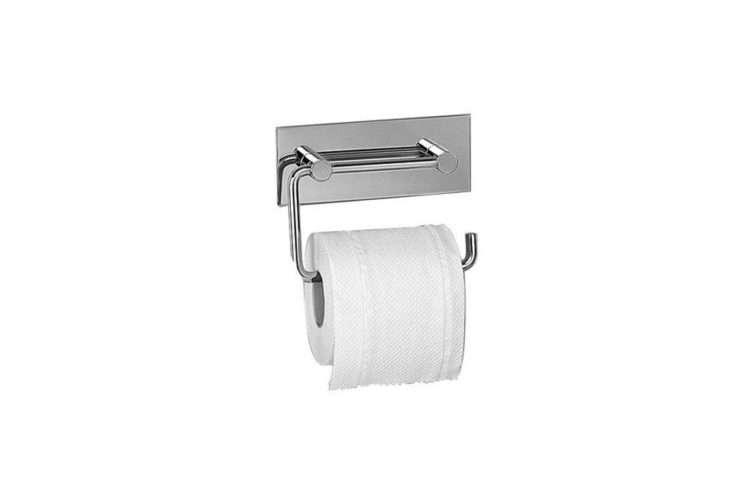 Stainless Steel Toilet Roll Holder Part - 26: Vola Toilet Roll Holder Stainless Steel