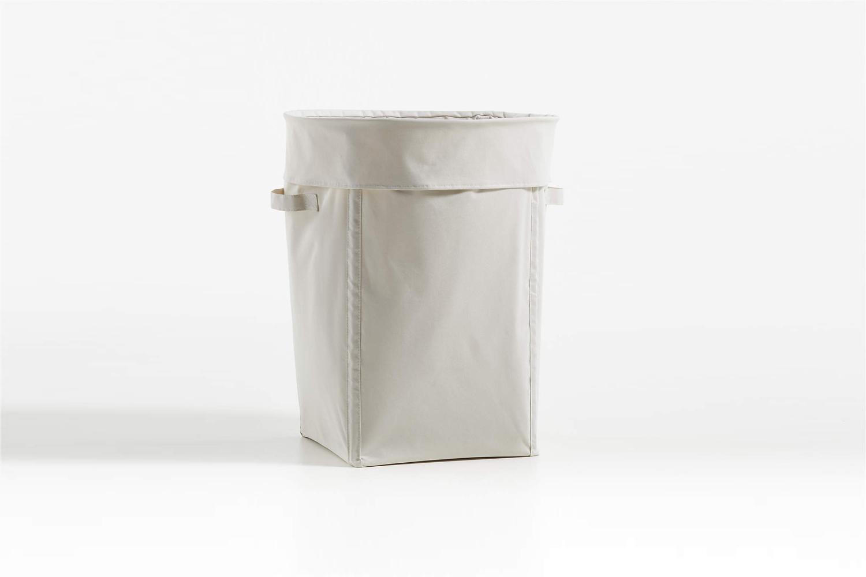 Crate & Barrel Canvas Light Natural Hamper