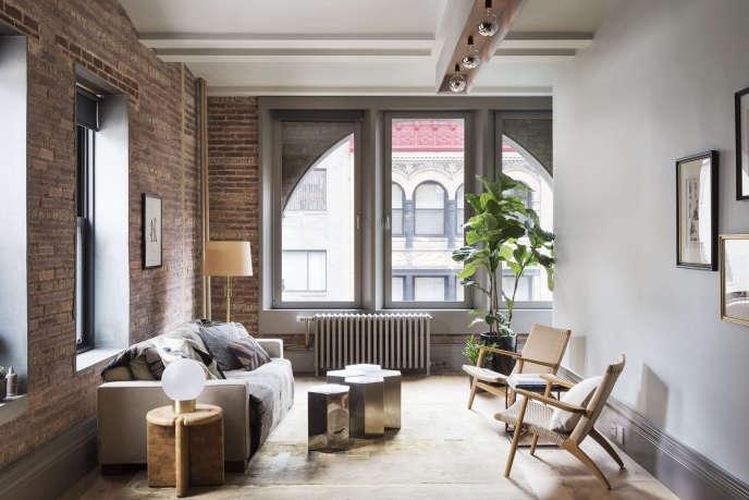 12th street loft living room 1