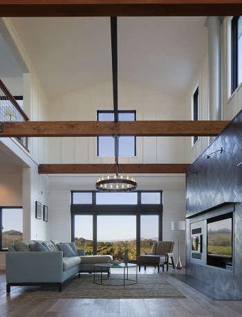 2 modern farmhouse living room