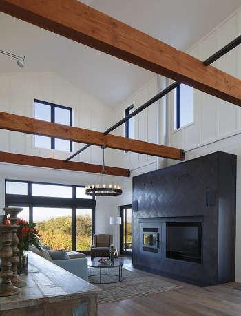 2a modern farmhouse living room