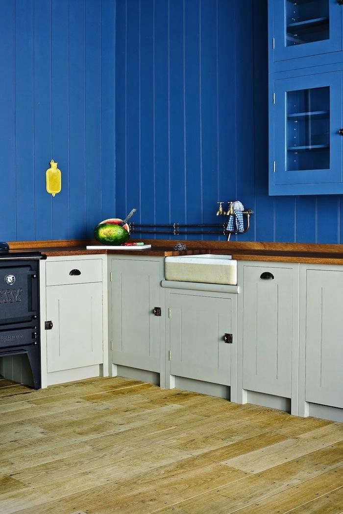 Kitchen Of The Week British Standard Kitchen In Bold Blue