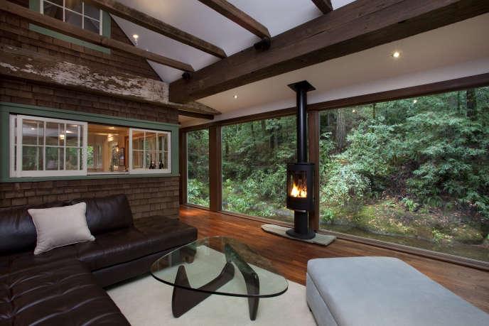 8 rustic rural cabin living room