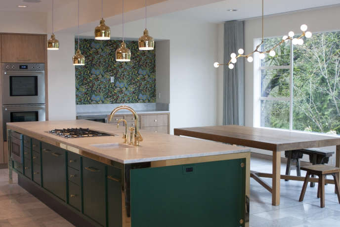 bright designlab green kitchen
