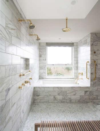 bright designlab marble bathroom