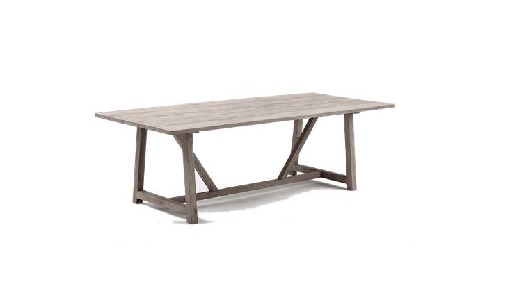 latest craze european outdoor furniture cement. 10 Easy Pieces: Rectangular Wooden Dining Tables | Gardenista: Sourcebook For Outdoor Living Bloglovin\u0027 Latest Craze European Furniture Cement
