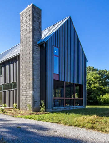 Metal Siding Farm House