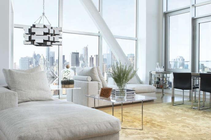 magdalena keck interior design bowery penthouse living room 2