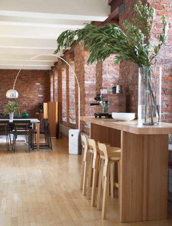 magdalena keck interior design chinatown loft kitchen