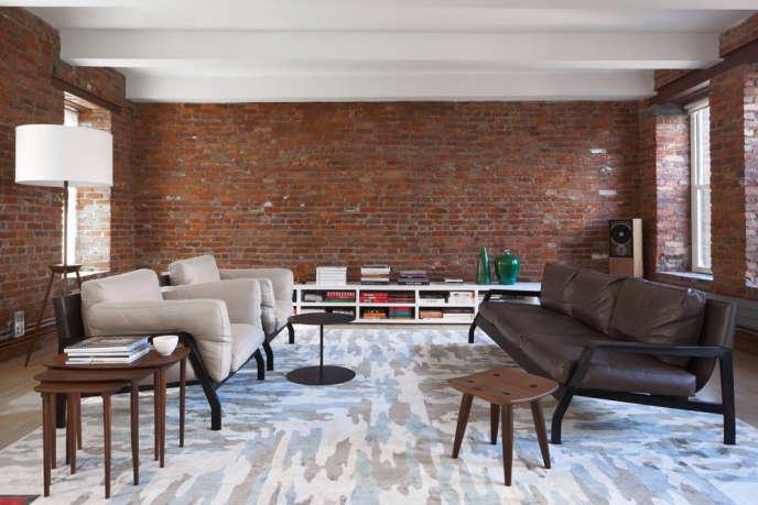 magdalena keck interior design chinatown loft living room