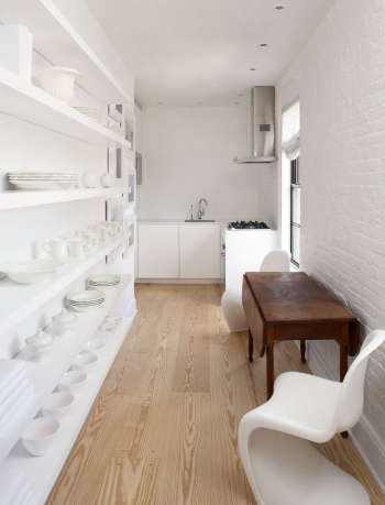 magdalena keck interior design greenwich village pied a terre kitchen 2