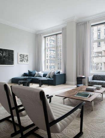 magdalena keck interior design park avenue apartment living room 2