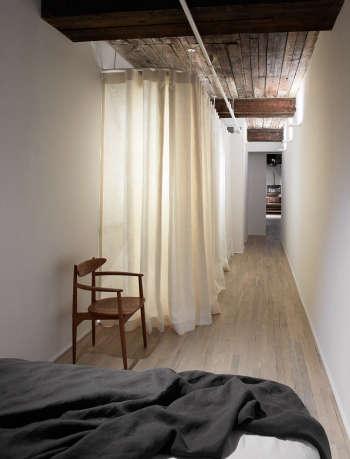 magdalena keck interior design tribeca loft bedroom