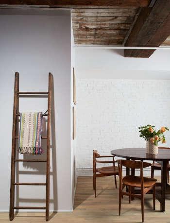 magdalena keck interior design tribeca loft dining area