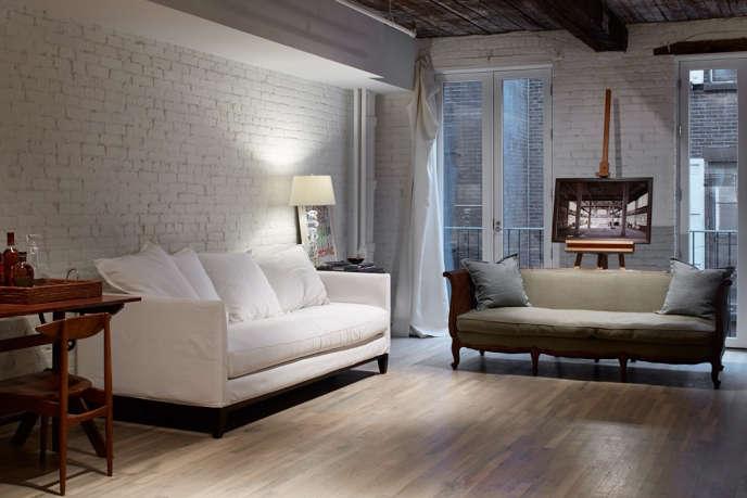 magdalena keck interior design tribeca loft living room 2