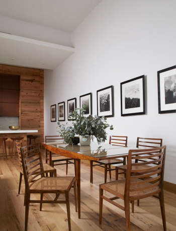 magdalena keck interior design white street apartment dining area