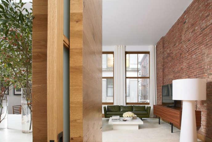 magdalena keck interior design white street apartment entry