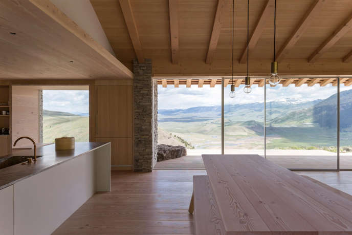 jackson hole house. photography by peter cook 55
