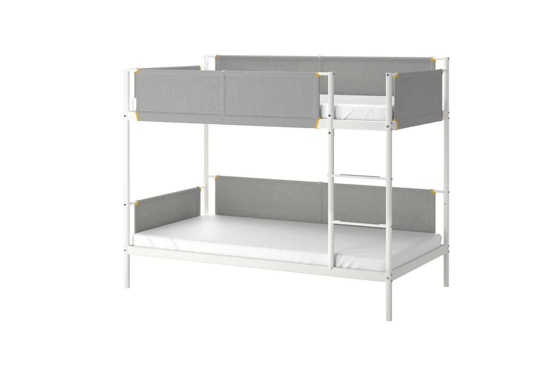 IKEA Vital Bunk Bed Frame White