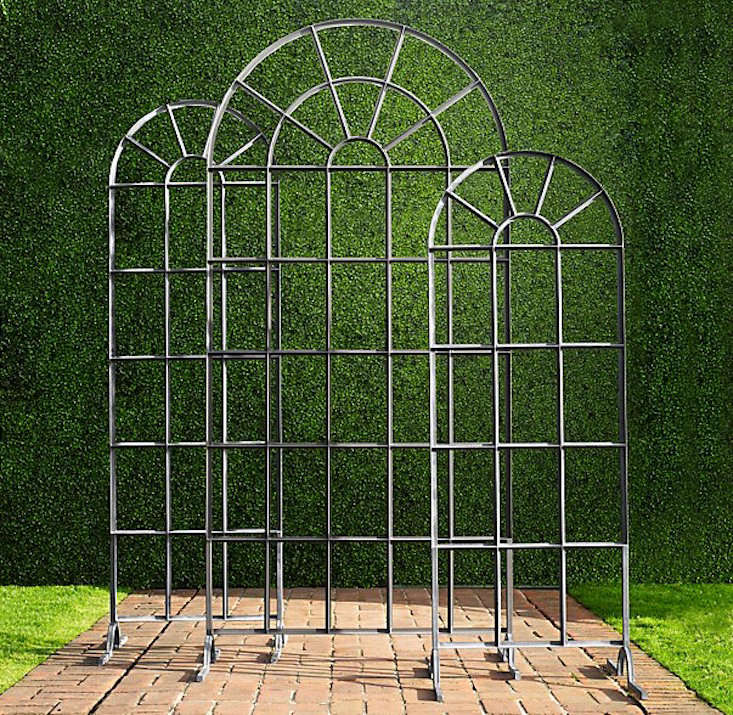 Easy pieces garden trellis panels gardenista