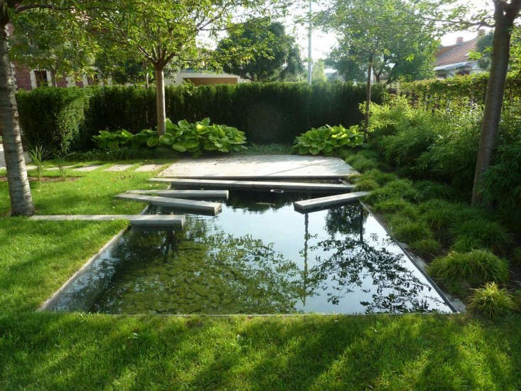 The Dark Mirror A Backyard Reflecting Pool In Eastern