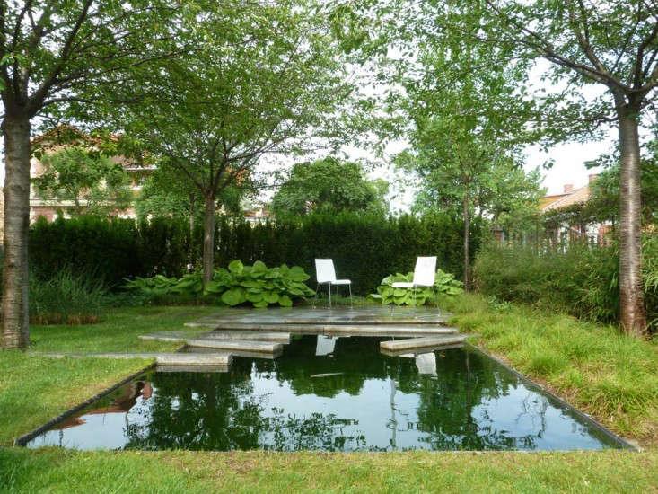 The Dark Mirror A Backyard Reflecting Pool In Eastern