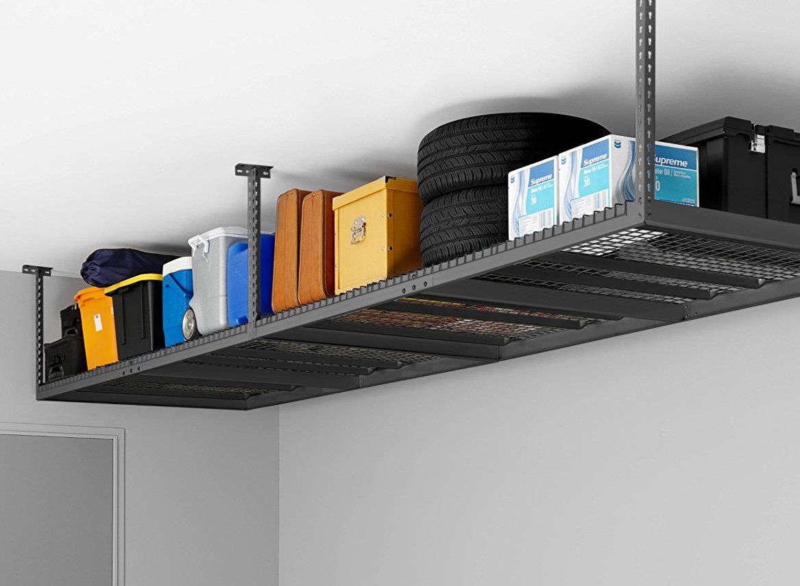 Newage Ceiling Mount Garage Storage Rack, Garage Ceiling Storage Racks