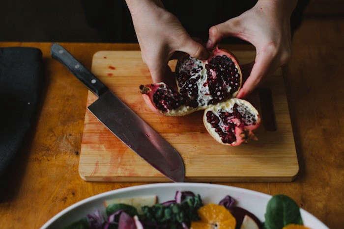 babes-in-boyland-poegranate-seeds-knife-cutting-board-salad-gardenista