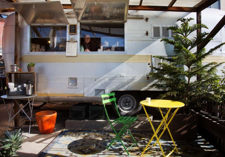 flowerland nursery airstream coffee-