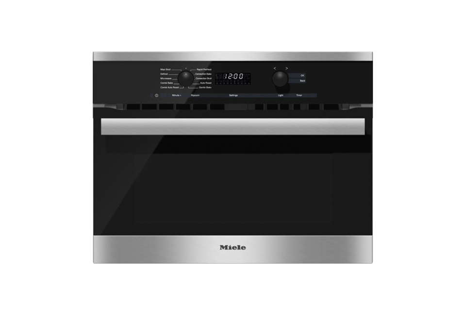Miele H 6200 BM Speed Oven in Black