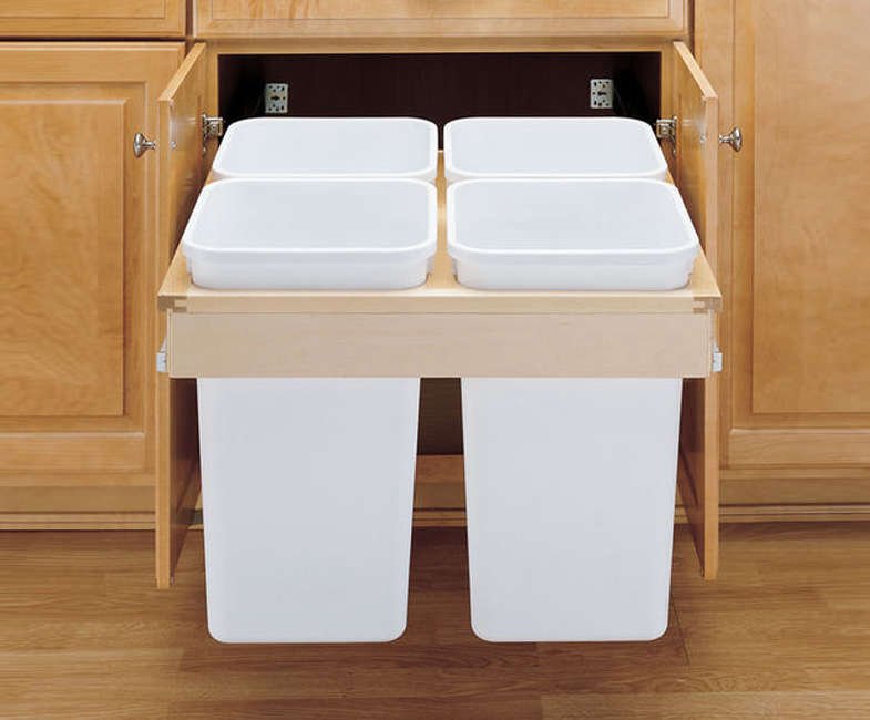 Rev-a-Shelf Recycling Bins