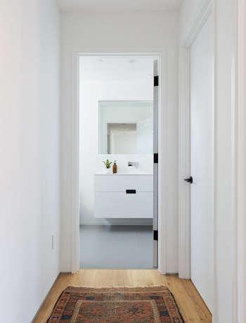 Bathroom renovation by Gamble plus design.