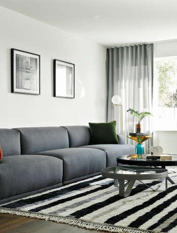 living room sf modern view gamble plus design