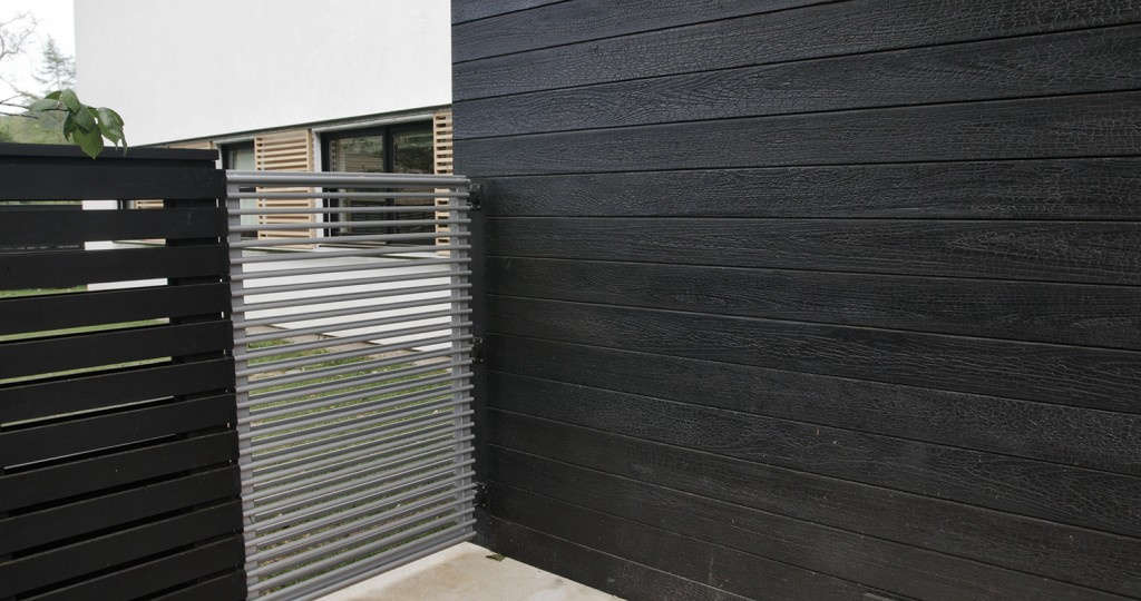 Hardscaping 101 Shou Sugi Ban Charred Wood Siding