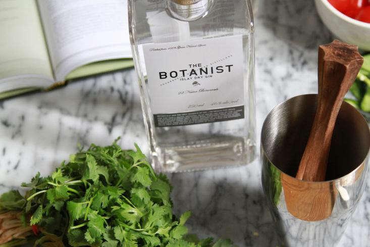 the-botanist gin-cilantro-gardenista