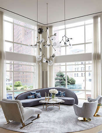 ALD Tribeca Triplex Living Room