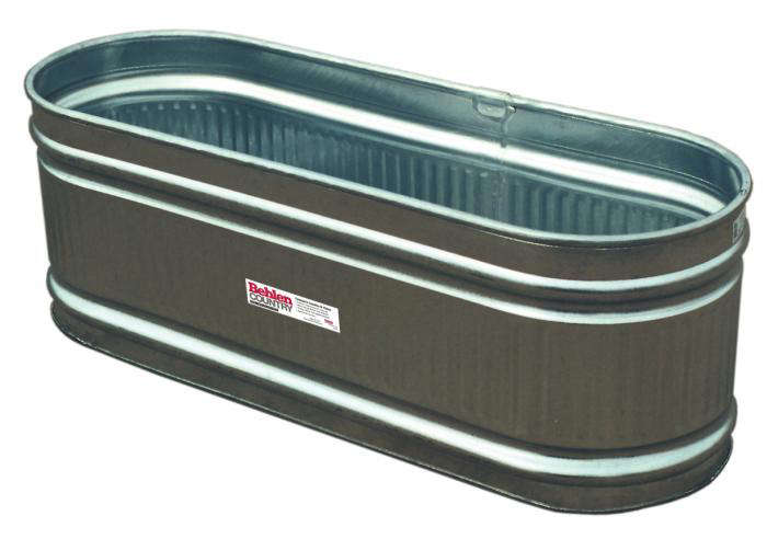 Steal this look water troughs as raised garden beds for Large metal tub for gardening