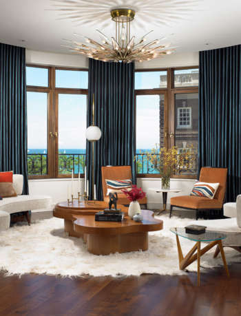 living room chicago residence amy lau design