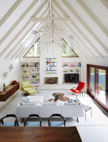 living room east hampton retreat amy lau design