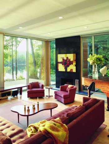 living room kent lake house amy lau design 2
