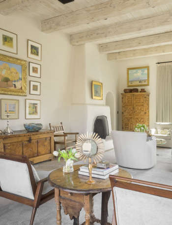 living room paradise valley residence amy lau design