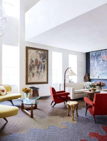 living room park avenue triplex amy lau design 2