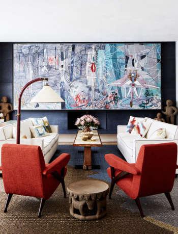 living room park avenue triplex amy lau design