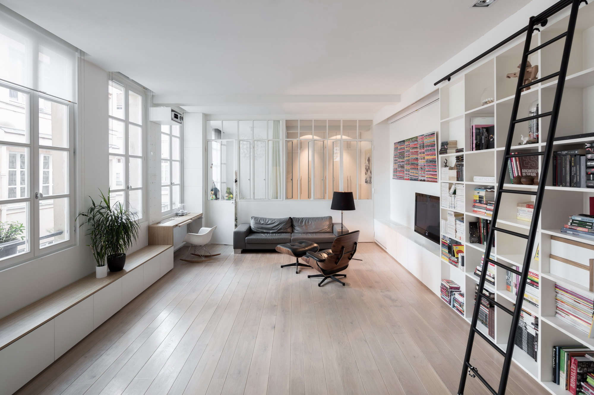 a place for everything a 900 square foot loft for a family of