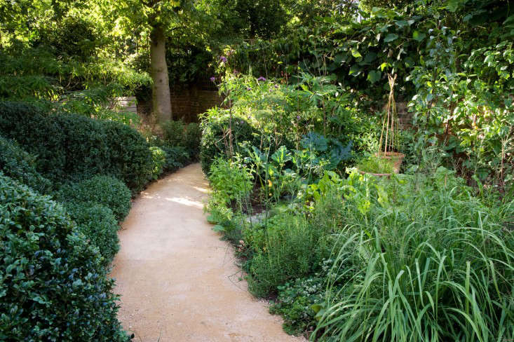 Designer Visit The Black And Green Garden Of Chris Moss