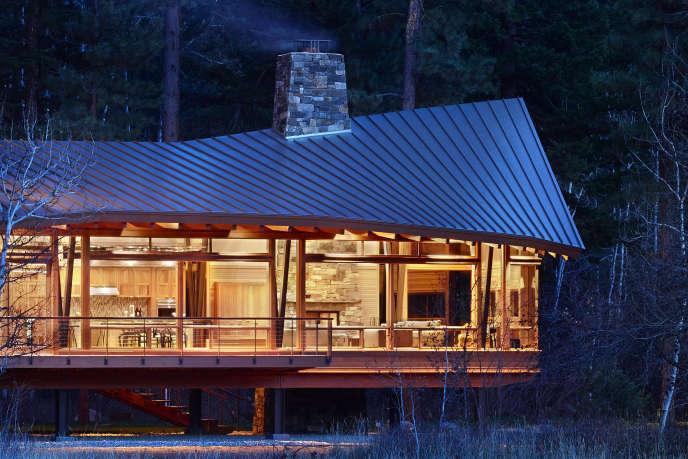 mazama exterior view finne architects